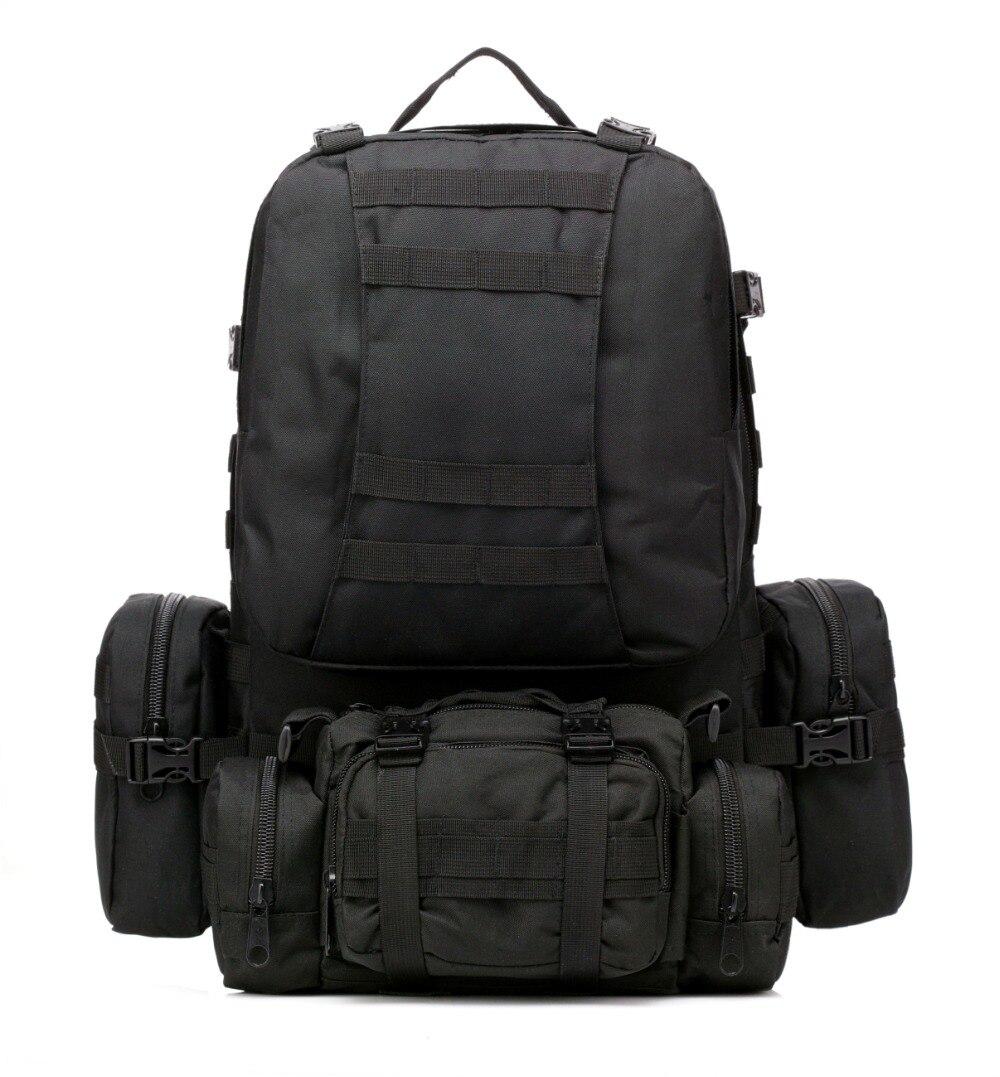 50L Molle assaut sac tactique en plein air armée militaire sacs à dos sac à dos camping sac randonnée sac à dos