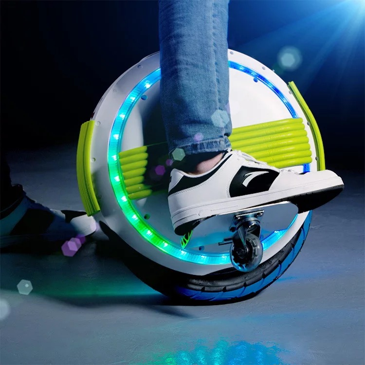 No Tax Single Wheel Hoverboard Monowheel Unicycle Self Balance Skateboard LED Bluebooth One Wheel Skateboard Electric hover bord