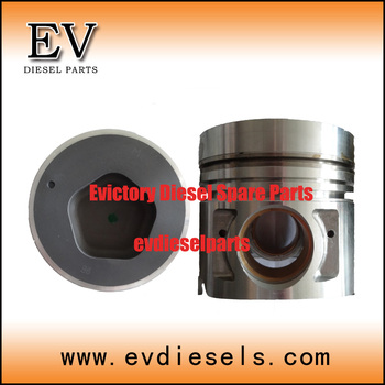FE6T FE6TA piston kit 12011-Z5968 include FE6 piston pin and clip for UD Bus