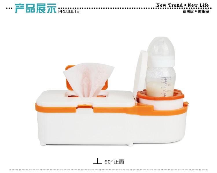 Семья и двойной автомобиля использовать детские влажные салфетки нагреватель влажный распределитель полотенца с грелки бутылки регулируемая температура влажные салфетки машина