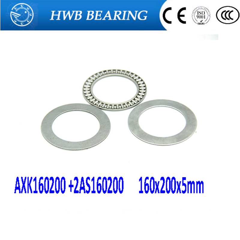 Free shipping 1piece AXK series AXK160200 +2AS160200 thrust needle roller bearing 160x200x5mm bearing +whosale and retail free shipping drawn cup needle roller bearing hk1718 hk0709 hk2220 hk0812 ta1729 hk0612 hk1008 hk1812 hk1010 hk1212