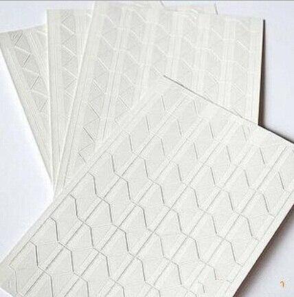 5PCS/lot Simple Functional White Transparent Series DIY PVC Corner Sticker Set For Photos Pictures/DIY Album Decoration