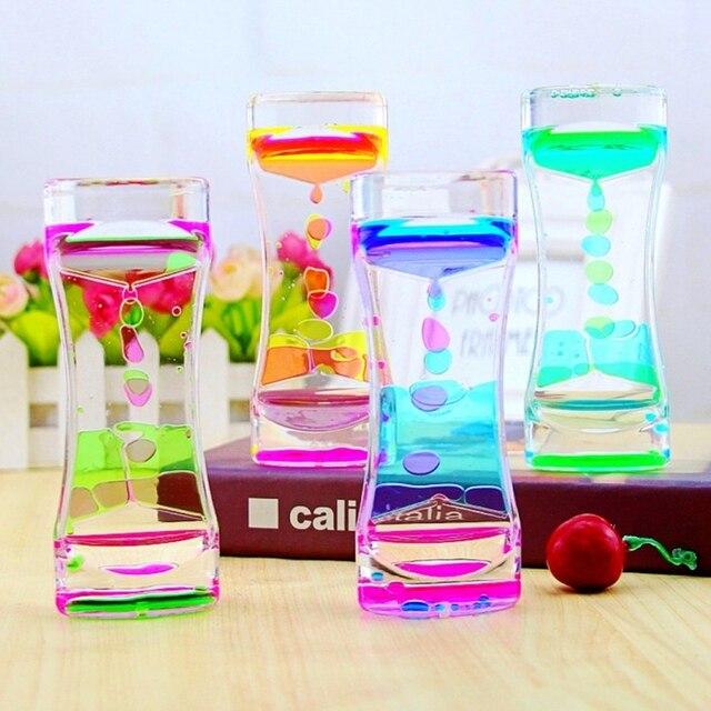 floating color mix illusion timer liquid motion visual slim liquid