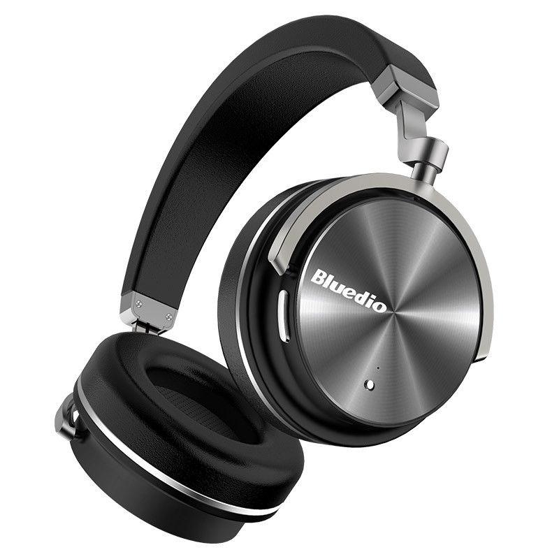 Bluedio T4 Turbine Active Noise Cancelling Over-ear Pivotant Bluetooth Casque!