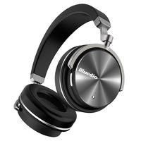 Bluedio T4 Turbine Active Noise Cancelling Over ear Swiveling Bluetooth Headset!
