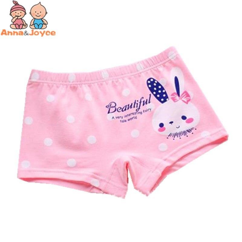 3pcs/lot Girls Cartoon Boxer  Panties  Children's Underwear Cotton Boxer Carton Underwearprincess Girls Briefs 4