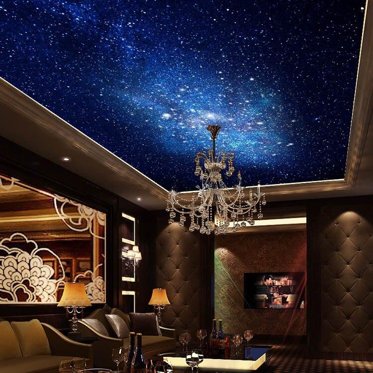 Bright Stars Photo wallpaper Fascinating galaxy Silk Wall ...