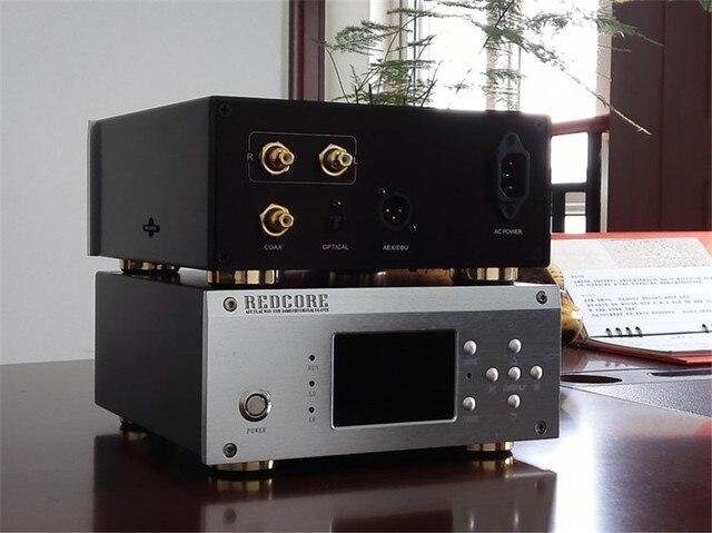 REDCORE Мастер ленты цифровой проигрыватель игрока Pure FPGA Цифровой технологии добычи с Декодером APE FLAC WAV 192 К 32bit HIFI