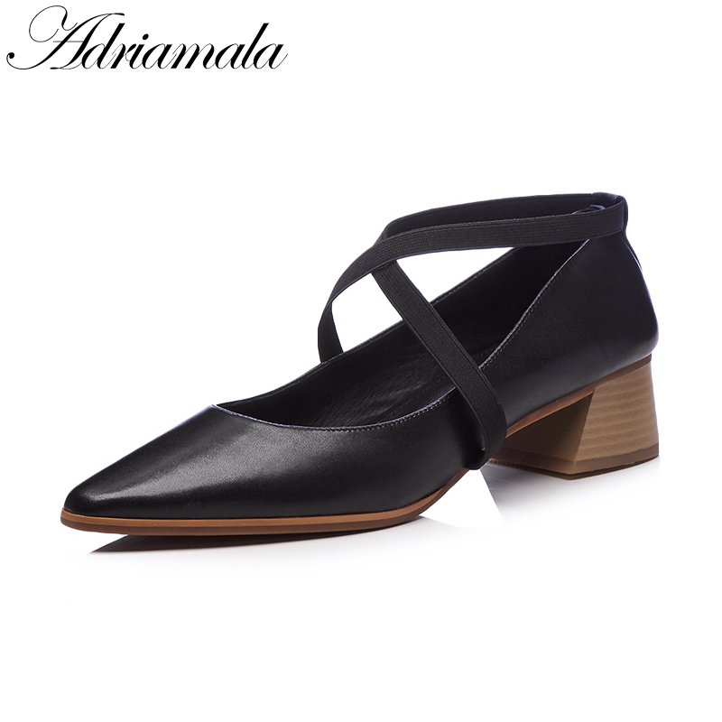 2018 Genuine Leather Mary Jane Women Pumps Casual Shoes Brand Designer Fashion Med Heels Ladies Sweet Leather Pumps Shoe Nysiani mary jane sterling trigonometry for dummies