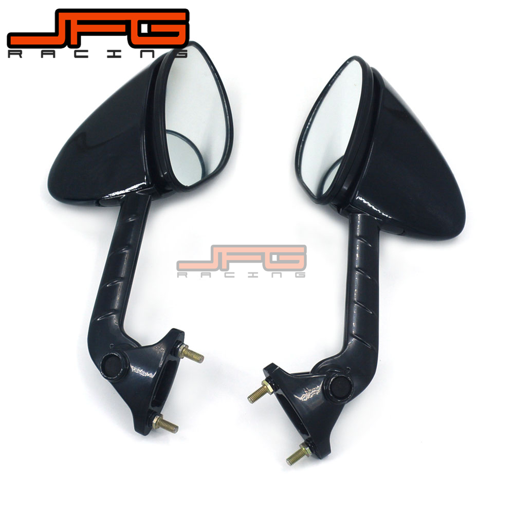 Motorcycle Rear View Side Rearview Mirror For KAWASAKI ZX14R ZX-14R ZZR1400 ZZR 1400 2006 2007 2008 2009 2010 handlebar grips rearview side mirror motorcycle mirror for yamaha mt09 mt07 mt 09 07 xj6 fjr xjr 1300 racer fazer xt 600 tdm 900