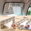 Chegada nova Car viseira Tissue box Auto acessórios suporte De Papel guardanapo clipe-Capa de couro PU venda quente