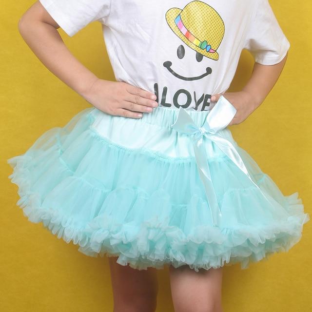 Girl Baby Cute Dance Tutus Baby And Children Girl Colorful Girls Fluffy Pettiskirts Chiffon Tutu Petti Skirt Princess Skirts