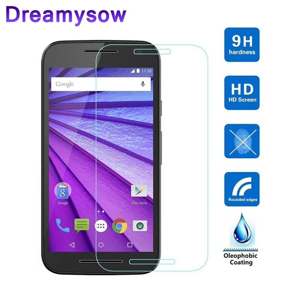 9H 2.5D Tempered Glass For Moto G3 G4 G2 4 G Z X2 X1 X Play Style E2 E For Motorola Z G4 Screen Protector Protective Glass Film