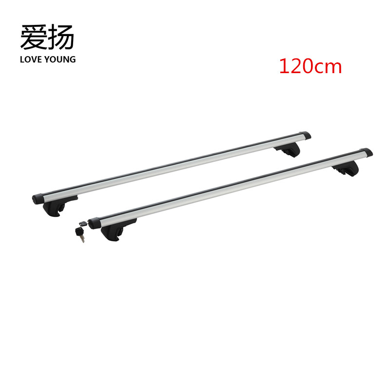 roof top rack SUV car travel rack general aluminum alloy car anti-theft cross bar roof luggage rack frame bicycle frame электровелосипед cross rack 750