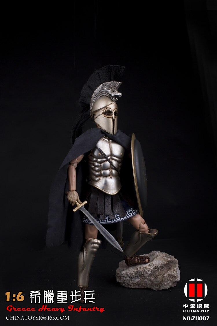 1/6 ZH007 Greece Heavy Armor infance 12 ''hombre soldado acción figura modelo juguete para colecciones regalos conjunto completo-in Figuras de juguete y acción from Juguetes y pasatiempos    3