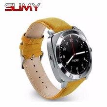 Viscoso Relógio Inteligente X3 Digital Eletrônica Cartão SIM Do Esporte Dos Homens Relógio de Pulso Do Bluetooth Smartwatch Para iPhone Samsung Android Phone
