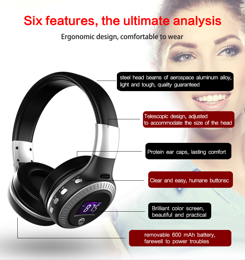 ZEALOT B19 Bluetooth Headphones Wireless Stereo Earphone ZEALOT B19 Bluetooth Headphones Wireless Stereo Earphone HTB11JniPFXXXXcsaXXXq6xXFXXXz