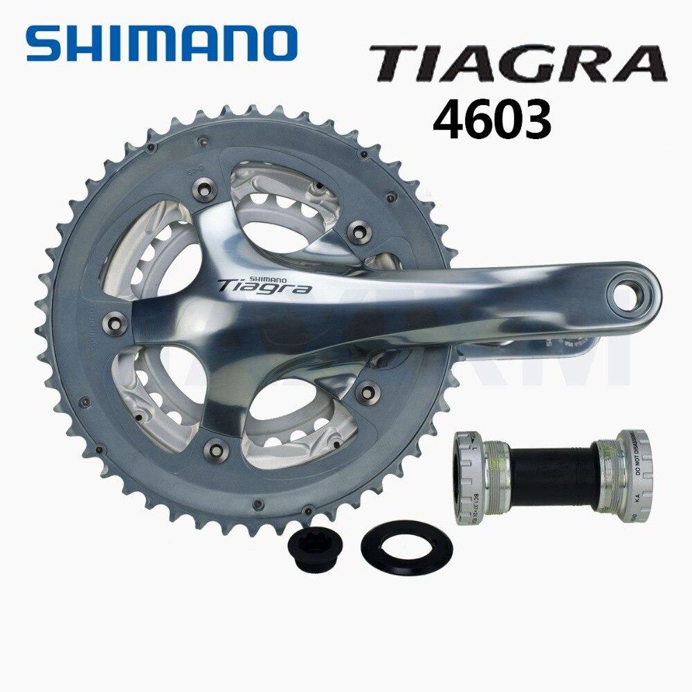 Shimano Tiagra FC-4603 vélo vélo pédalier 3x10 vitesse 50/39/30 T argent 170mm 175mm