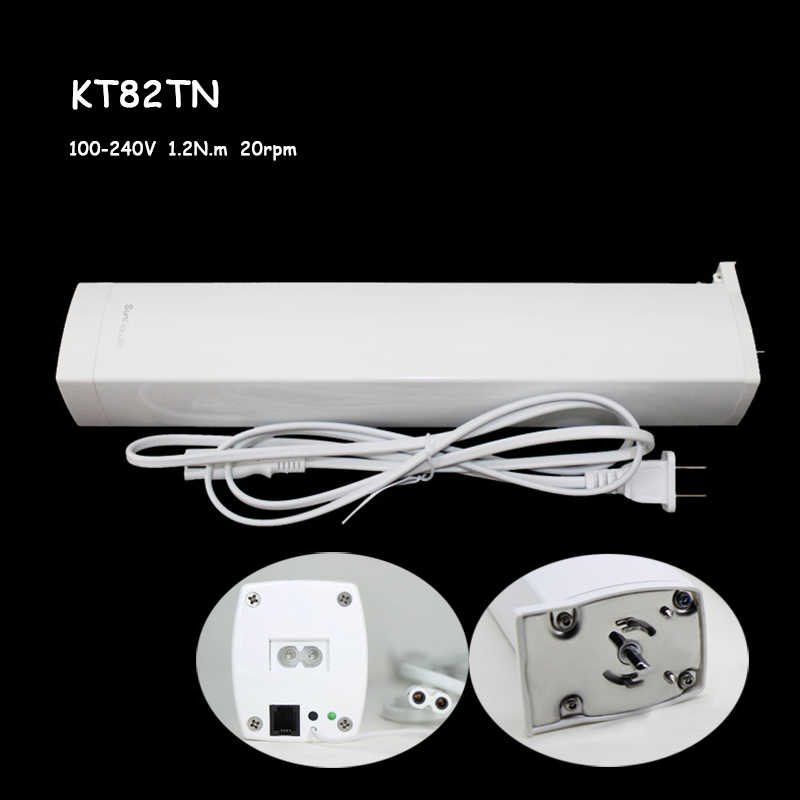 5 years quality guarantee silent curtain motor DOOYA sunflower KT82 KT52 100V 230V 240V motor work with wifi Alexa google home