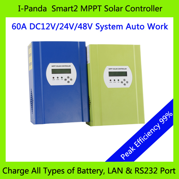 все цены на  2Years Warranty 48V 60A SMART2 MPPT solar controller, 60A Solar panel battery charger, with RS232 Lan Charge Vented ,NiCd, Gel  онлайн
