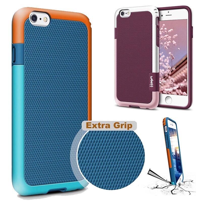 Shockproof Hybrid Silicone Impact Case For Funda IPhone 6 6s 7Plus 7 8 Plus Xs Max XR Anti Slip Capa Coque For IPhone 7 Case