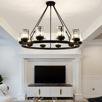 TRAZOS Round circle Ceiling Lights Aluminum Modern Led Ceiling  lamp for living room bedroom dining office meeting room