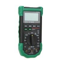 Digital Multimeter 5 in 1 Noise Illumination Temperature Humidity Tester Diagnostic tool Auto Range LCD Backlight