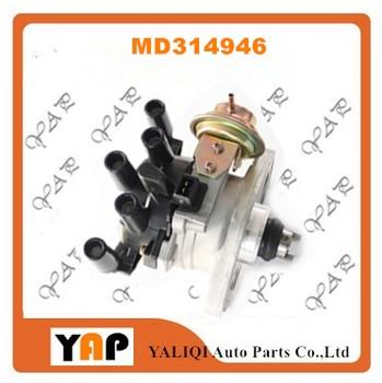 NEW Distributor FOR FITMITSUBISHI Pajero L200 L300 L400 V11 V31 V11W V31W PD4W PA4W PB3W 4G63 4G64 2.0L L4 2plugs MD314946