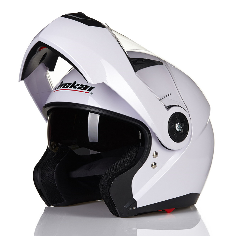 NEW Moto Helmet Safety White Racing Motorbike helmets Casco Capacete casque Motorcycle helmets moto Helmet ...