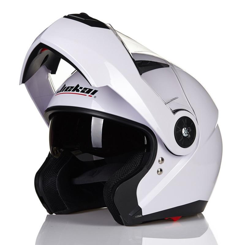 Nouveau casque de moto sécurité blanc casque de course moto rbike casque Casco Capacete casque moto rcycle casque de moto