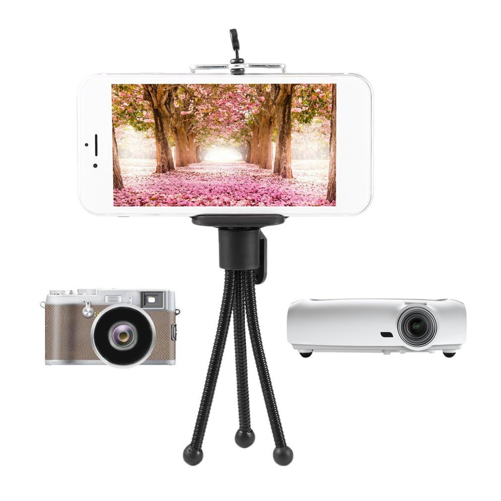 Universal Flexible Mini Portable Metal Tripod Stand For Digital Camera Webcam