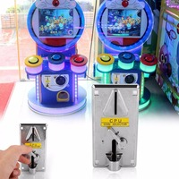Gasky Plastic Electronic Advanced Front Entry CPU Multi Coin Acceptors Comparison Coin Selector For Arcade Machines