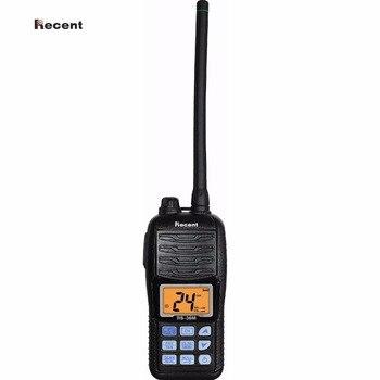 Los últimos RS-36M IPX7 VHF Portátil Radio marino pantalla LCD flotar Dual/Tri-Reloj de escaneo automático jamón Interphone 156 ~ 161,45 MHz transceptor