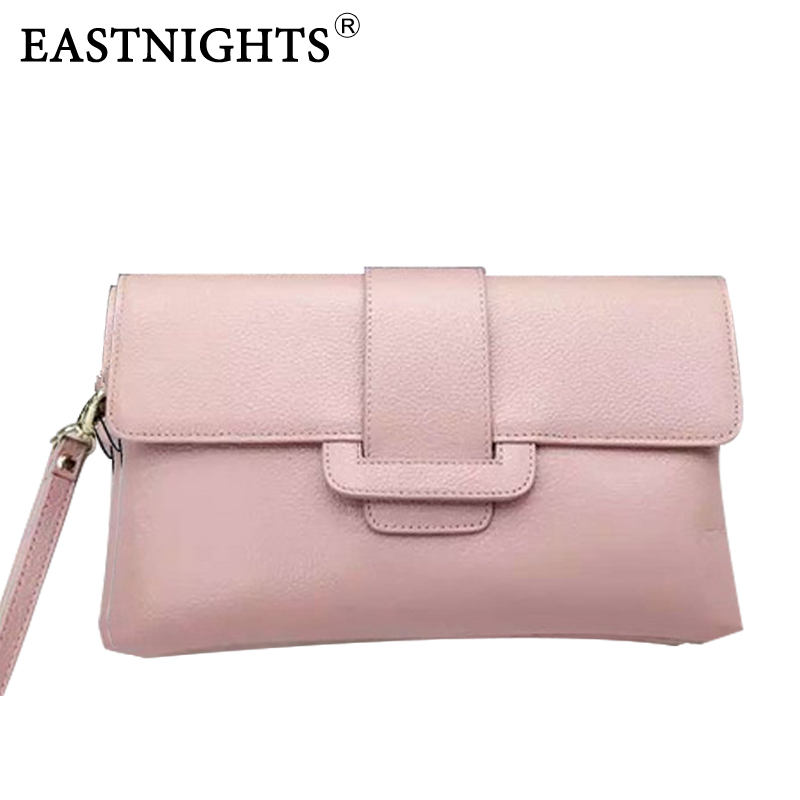 EASTNIGHTS Newest designer handbags women leather handbags genuine leather shoulder bags famous brands evening clutch bags 2016 newest fashion designer handbags high quality genuine leather bags handbags women famous brands bolsa feminina pt733