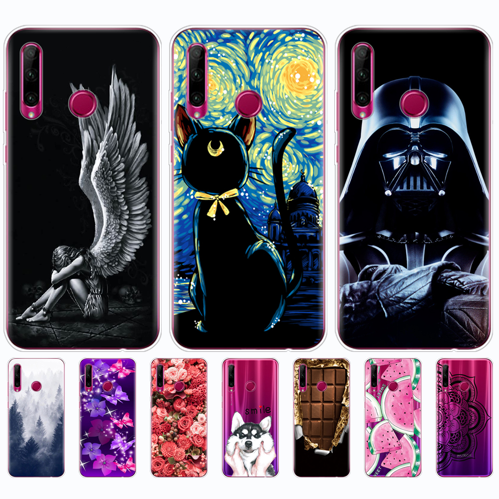 For Honor 10i Case Honor 10i HRY-LX1T Case Bumper Soft Silicon Tpu Back Cover Phone For Huawei Honor 10i Honor10i 10 I 6.21 Inch