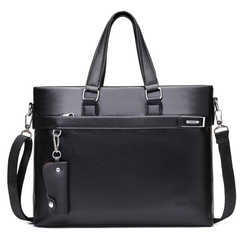 Brand High Quality Men's Casual Briefcase Business Messenger Handbags Men Bags Sac A Main Pour Hommes Luxury Designer