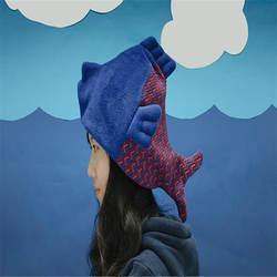 Творческий двойной Плюшевые мультфильм пару милые шляпа для рыбалки реквизит для фотосессии Косплэй плюшевые игрушки Hat Рождество