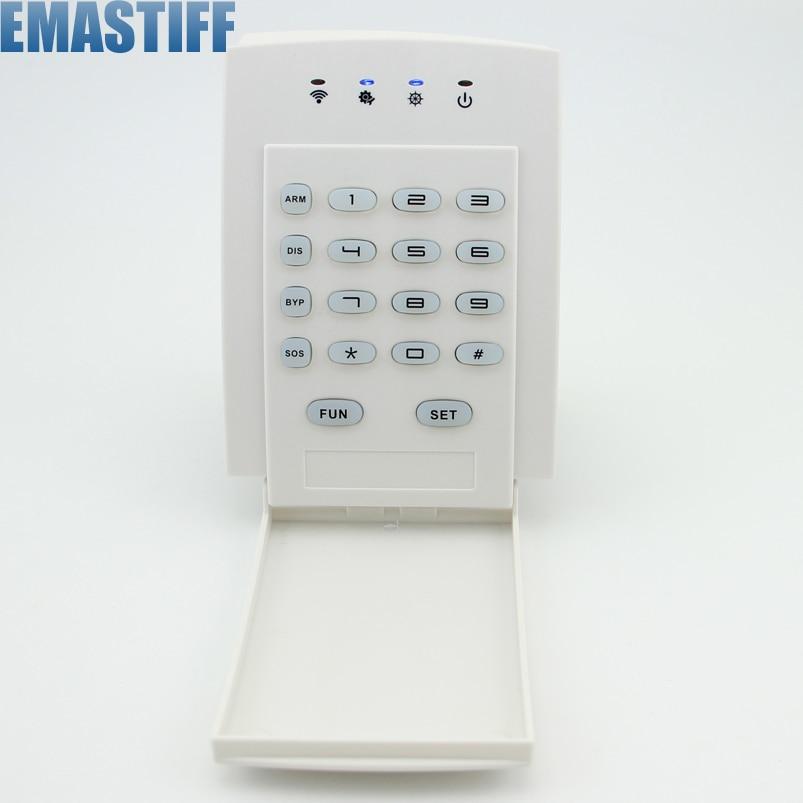 bilder für Welt-Guard Tastatur Tastatur Fernbedienung Für Zuhause Alarmanlage 433 MHz