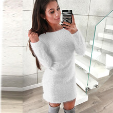 423cf3e5c99 Women Sweater Dress Women Sexy Party Dress Female Club Night Vestidos Long  Sleeve Pullover Dresses Robe