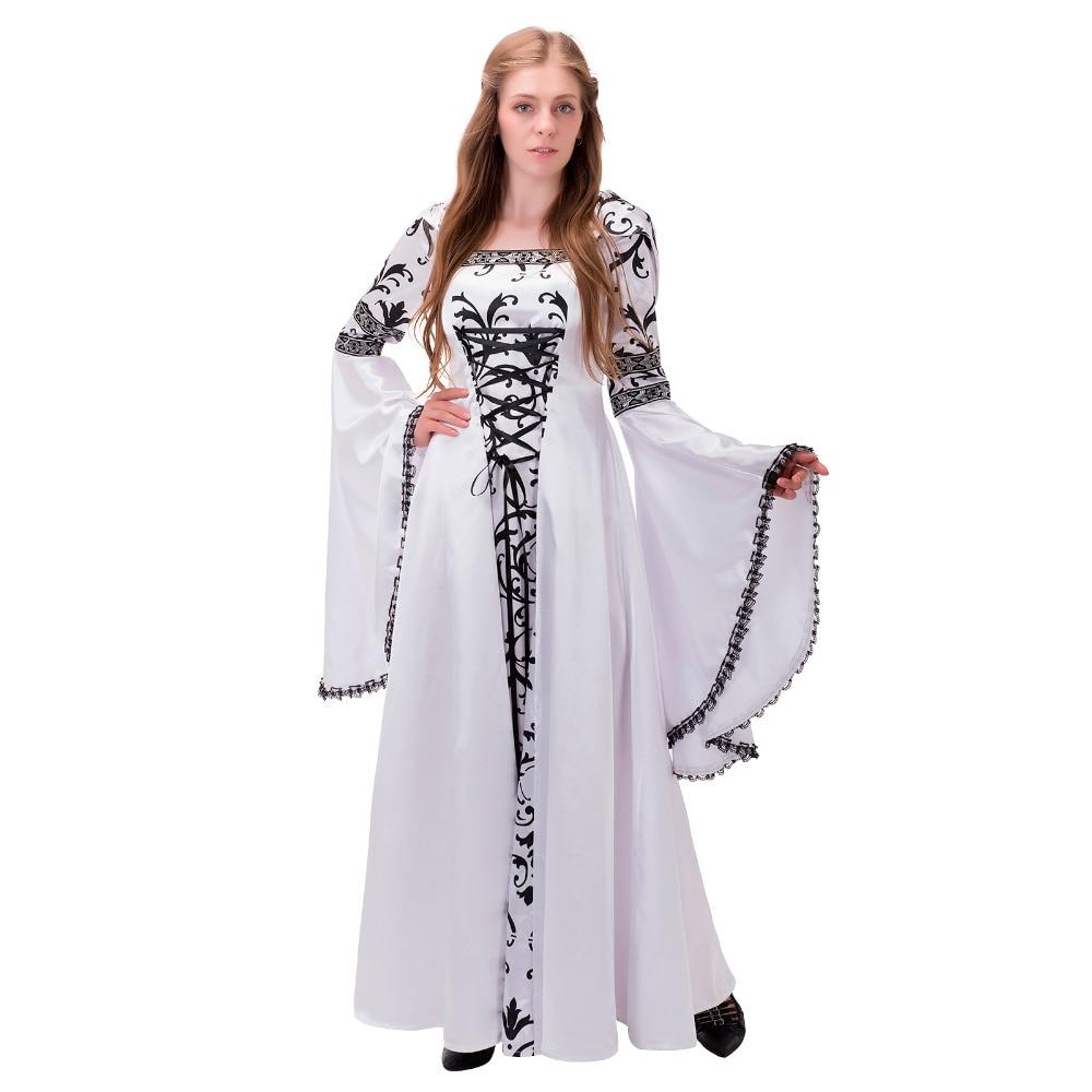Medieval Renaissance Dress Ball Gown With Hood 18th Century Victorian Dress Civil War Dress Rococo Dress Halloween Costume