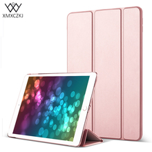 XMXCZKJ Phones Accessories PC Tablet Stand PU Leather Smart Case For ip