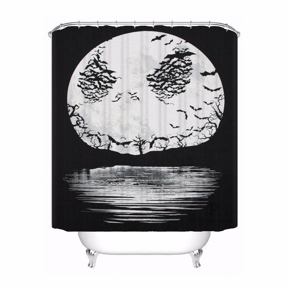 Custom The Nightmare Before Christmas Shower Bath Bathroom Curtain ...