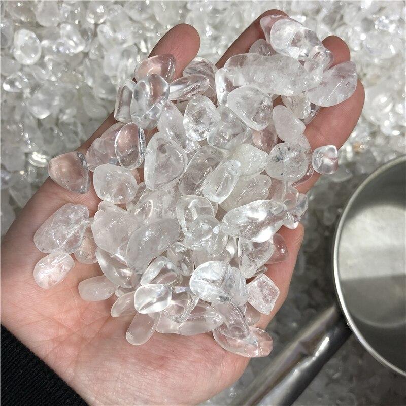 1 kg top qualité rugueux naturel clair Quartz cristal pierre naturelle poche pierre gravier pierre chine rugueux spécimen