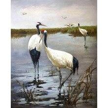 diamond painting Red-crowned crane,  rhinestone,diy mosaic