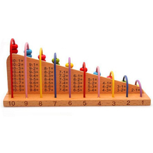 NEW Hot Kids Educational Wooden Abacus Baby Counting Number Frame Calculation Counter Calculator Math Counting Toys