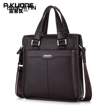 Nice New Men's Handbag Genuine Leather Luxury Brand Men Business Briefcase Handbags Messenger Bags High Quality Men Shoulder Bag