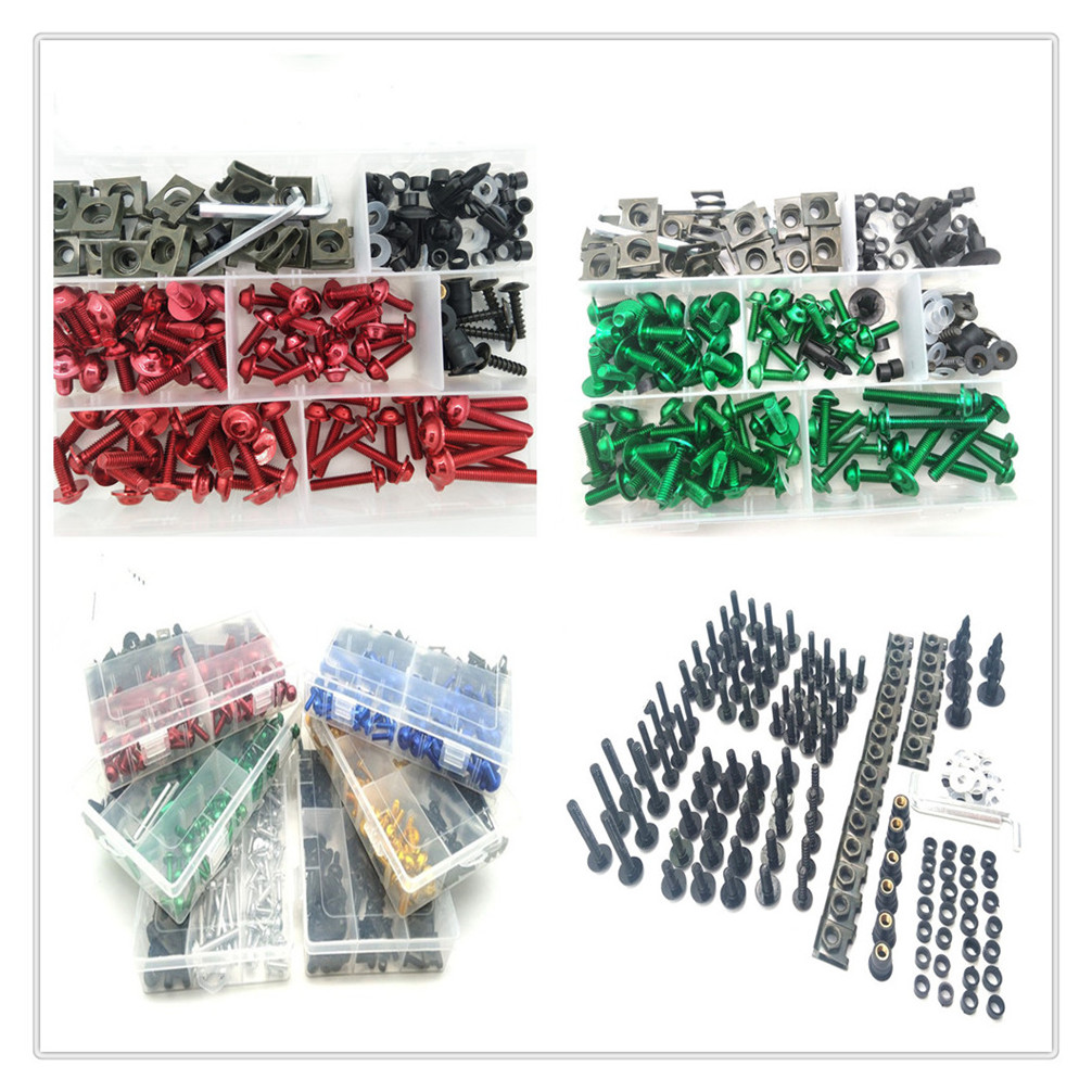 Motorcycle Parts Complete Fairing Bolt Kit Body Screw For Honda CBR650F CBR1100XX VFR750 VFR800 Auto Parts and Vehicles