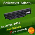Jigu bateria do portátil para acer aspire one zg5 kav10 kav60 d250 aod250 aspire one a150 bateria