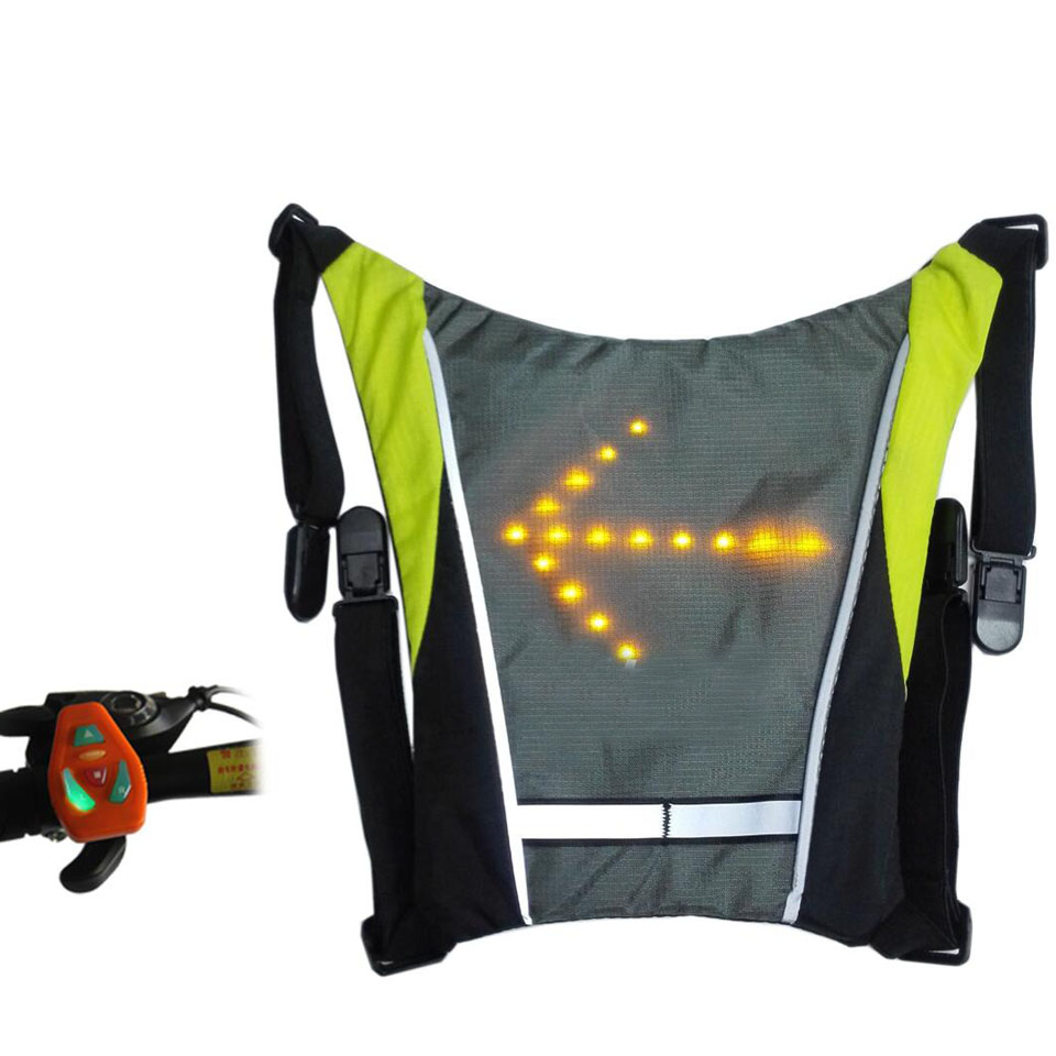 Bag Parts Accessories for Backlight Reflective Safety LED Bag Lights Reflective LED Bag with Backlight with Remote Control