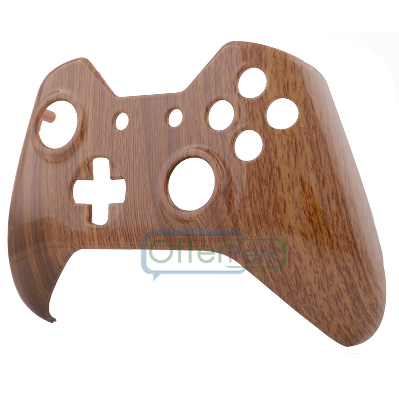 US $6 99 |Wooden Grain Front Housing Shell Faceplate Case Part for Xbox One  Controller-in Cases from Consumer Electronics on Aliexpress com | Alibaba